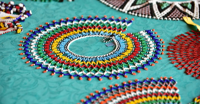 Beaded necklaces © South African Tourism/Flickr
