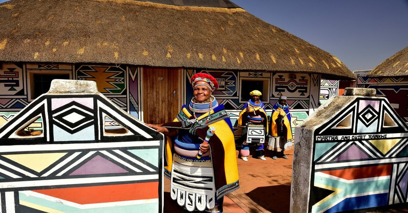 Ndebele Village in Mpumalanga, South Africa © South African Tourism/Flickr