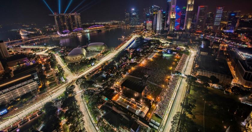 Singapore Grand Prix Track | © chensiyuan