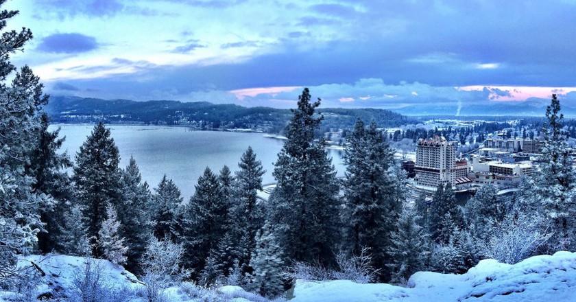 Tubbs Hill - Coeur d Alene winter   © D.Taylor in Idaho/Flickr