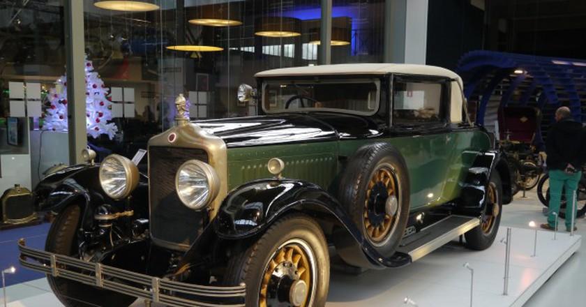 The Autoworld's pièce de résistance: the 1929 Minerva 20 PK AE Coupé, a car built for kings   © Klaus Nahr/Flickr