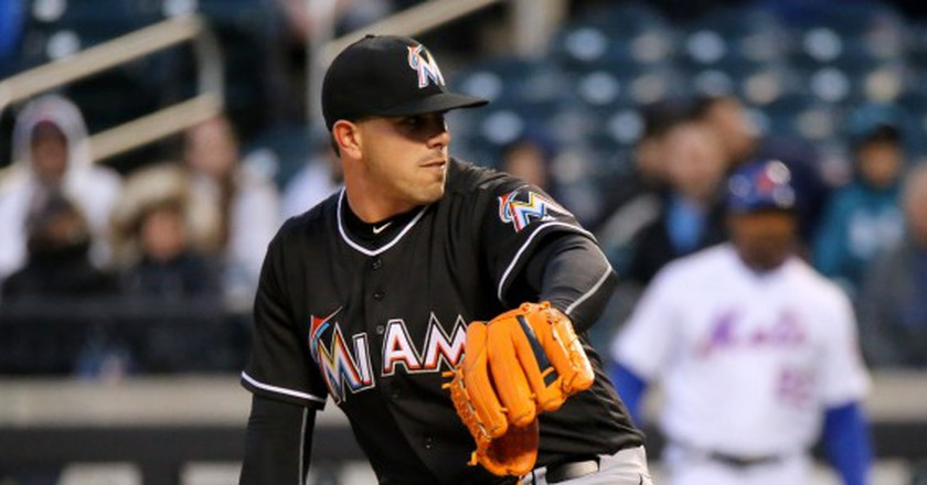 Jose Fernandez on the mound for the Miami Marlins | Courtesy of Arturo Pardavila III/Flickr