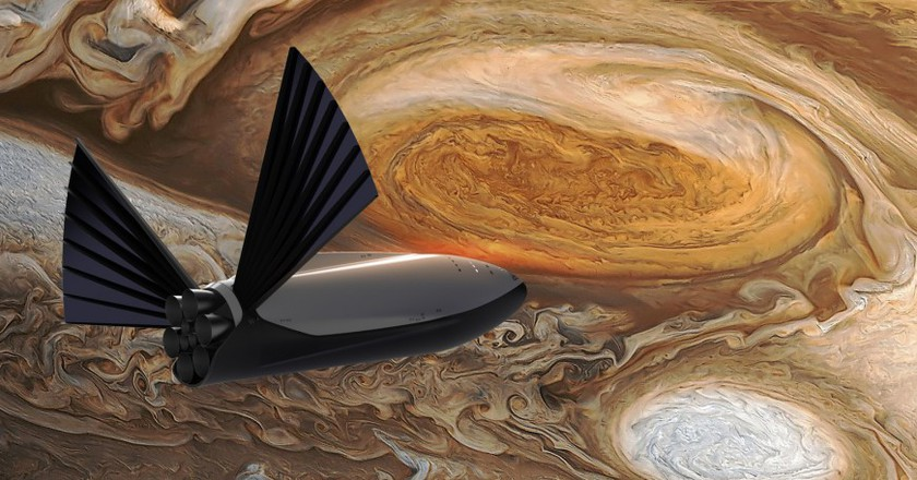 The Space X Mars Mission | Courtesy Space X