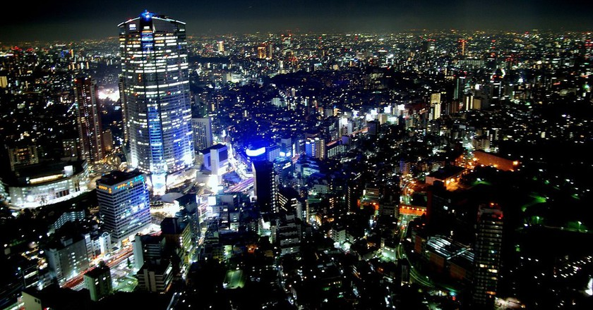 Roppongi nightscape | © electricnude/Flickr