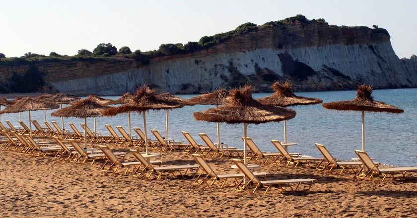 View of Gerakas beach, Zakynthos | © Live Zakynthos/Flickr