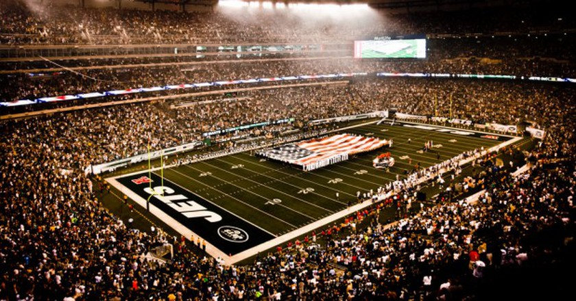 The New York Jets are one of six NYC-based pro sports teams playing Sunday | © Flickr