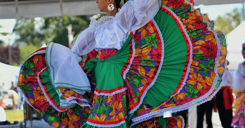 Mexican dancer | © Brendan/Flickr