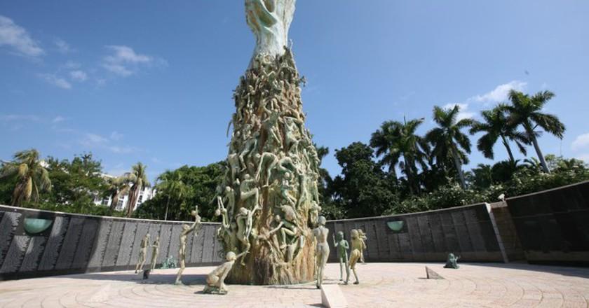 The Holocaust Memorial in Miami | Courtesy of Dennis Goedegebuure/Flickr