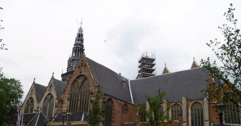 Oude Kerk | © Casey and Sonja / Flickr