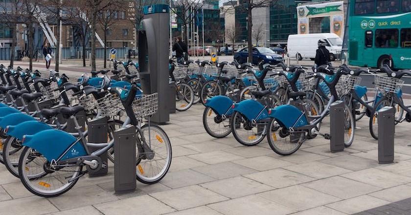 Dublin Bikes public bicycle rental scheme | © William Murphy/Flickr