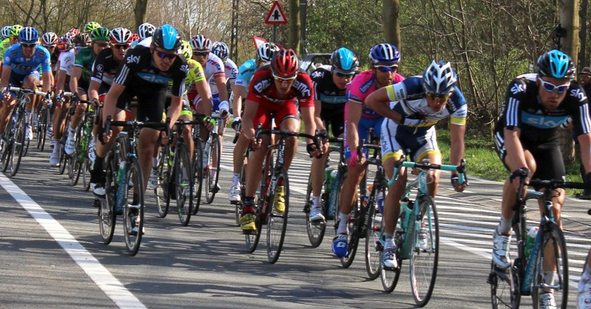 Fighting for victory in Flanders' beloved 'Tour' | © Roxanne King/Flickr