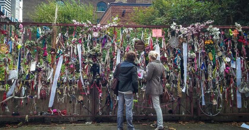 Cross Bones Graveyard, Southwark ©Garry Knight/Flickr