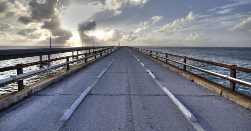 The Old Seven Mile Bridge   Courtesy of Allen McGregor/Flickr