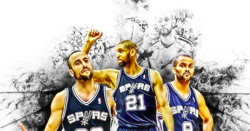 San Antonio Spurs | © Shea Huening/Flickr