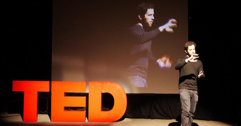TED Talk © urban_data/Flickr