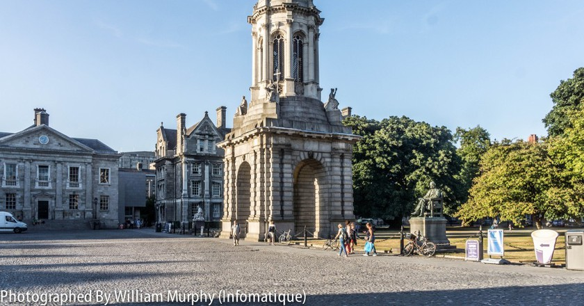 The Campanile, Trinity College Dublin | © William Murphy/Flickr