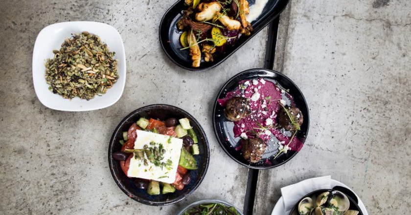 An array of dishes at Brika | © Danica Zuks