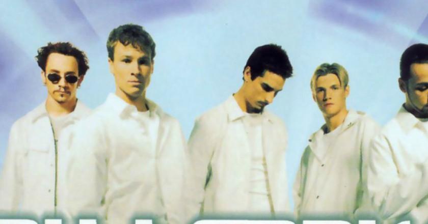 Backstreet Boys' 'Millennium' album cover |© JIVE Records