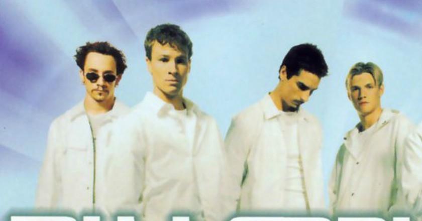 Backstreet Boys' 'Millennium' album cover  © JIVE Records