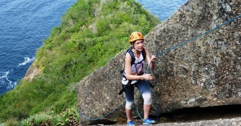 Rock climbing  © courtesy of Rio Adventures tour operators