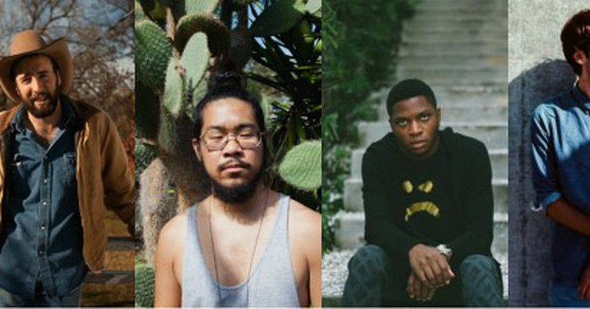 Joey Purp, Luke Bell, Mndsgn, Gallant, & Day Wave |© Facebook/Alima Jennings