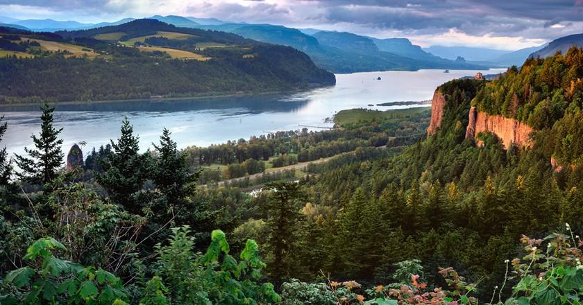 Columbia River Gorge | © Bala/WikiCommons