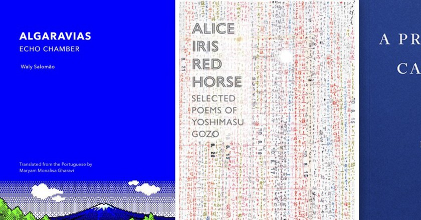Courtesy of New Directions Publishing, Fitzcarraldo Editions, and Ugly Duckling Presse