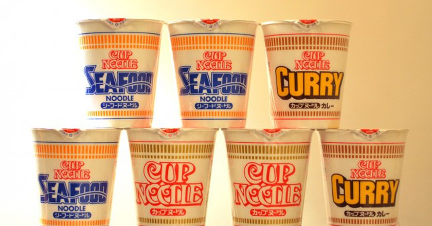 Nissin Cup Noodles in 1971 | © Yumi Kimura/WikiCommons