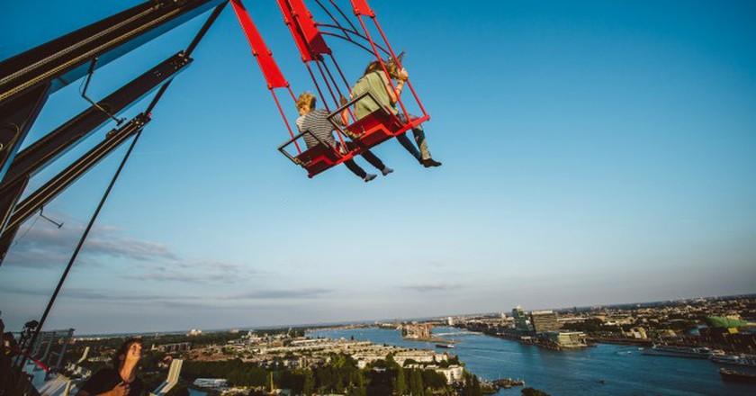 Over The Edge Swing, Europe's tallest swing | © Dennis Bouman