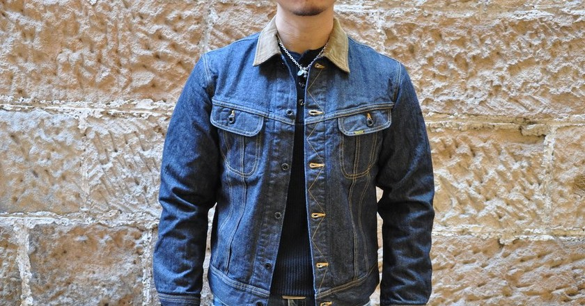 Studio D'Artisan's Storm Rider denim jacket | Courtesy of Corlection