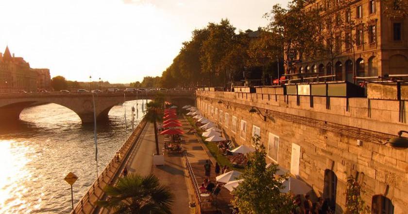 Evening at the Paris Plage  │© VinceTraveller/Flickr