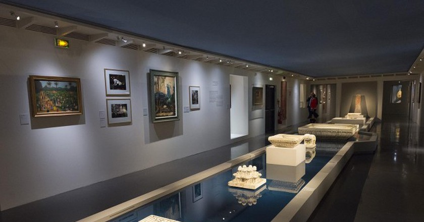 Exhibit at Jardins d'Orient │ Courtesy of the Institut du Monde Arabe