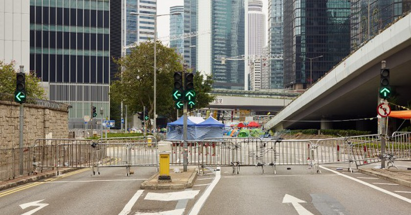 Harcourt Road, December 7, 2014 | © Johnny Gin