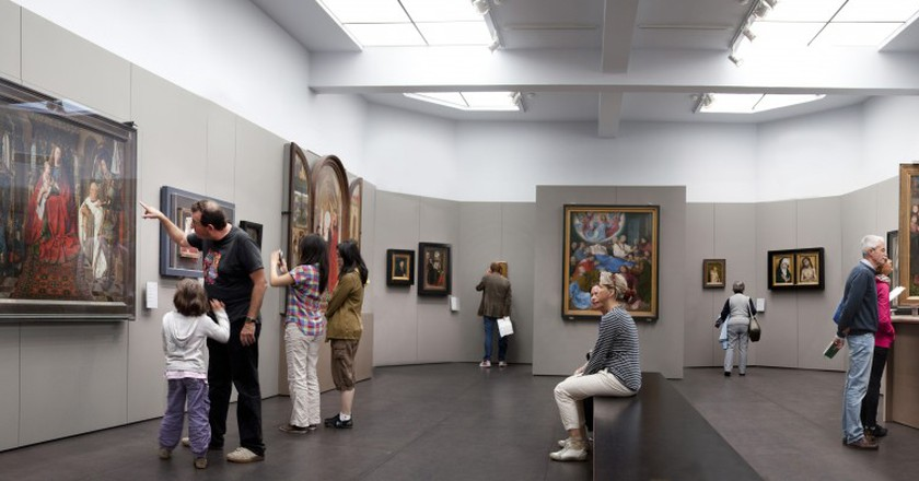 Widely famed for its Flemish Primitives, the Groeningemuseum also has some nice Neoclassical and Expressionist pieces up its sleeve | Courtesy of tourisme Brugge, ©Jan D'Hondt