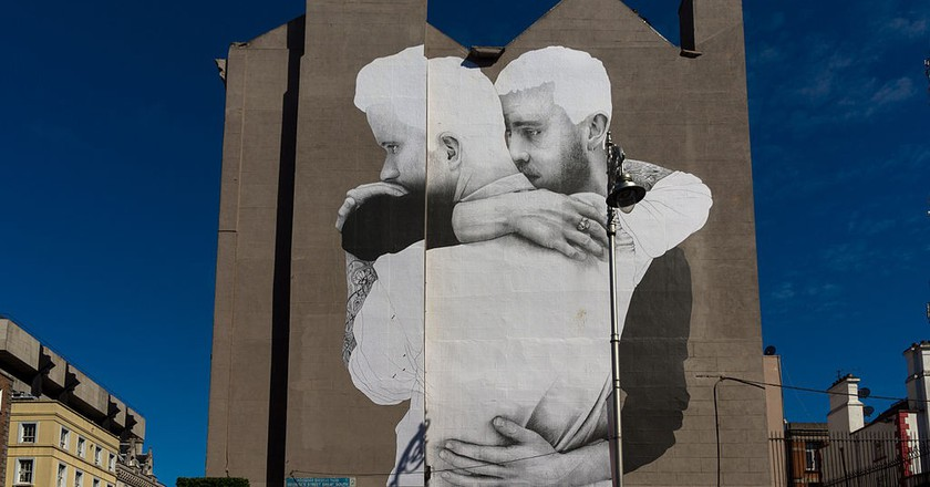 Dublin Mural by Joe Caslin, part of the Yes Equality project | ©William Murphy/Flickr
