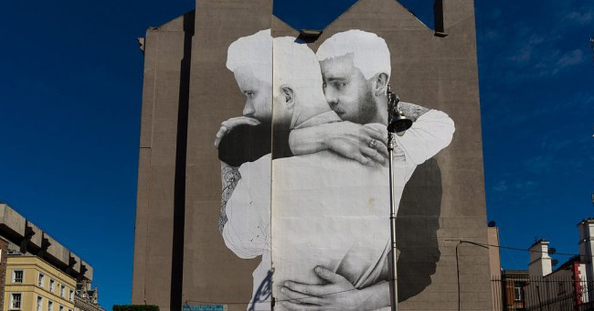 Dublin Mural by Joe Caslin, part of the Yes Equality project   ©William Murphy/Flickr