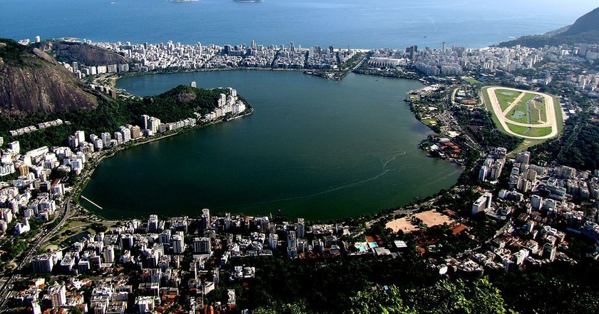 Lagoa from an aerial perspective |© Fwehrs/WikiCommons