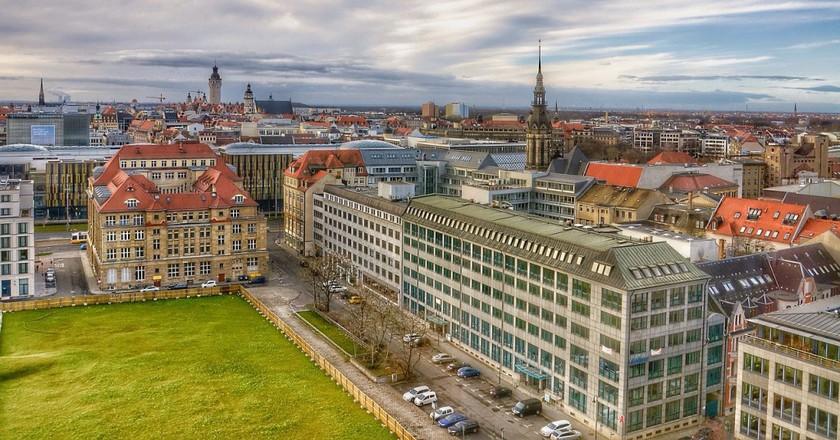 Leipzig city view | © ThomasWolter/PixaBay