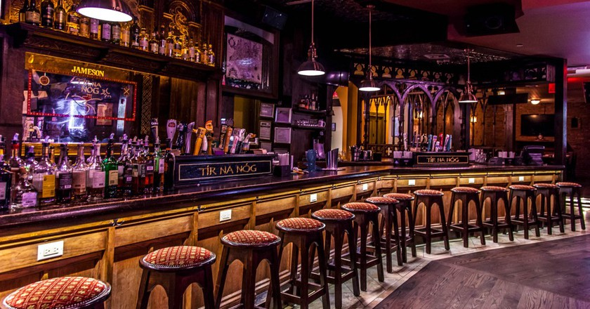 Main bar at Tír na nÓg   Courtesy of Tír na nÓg