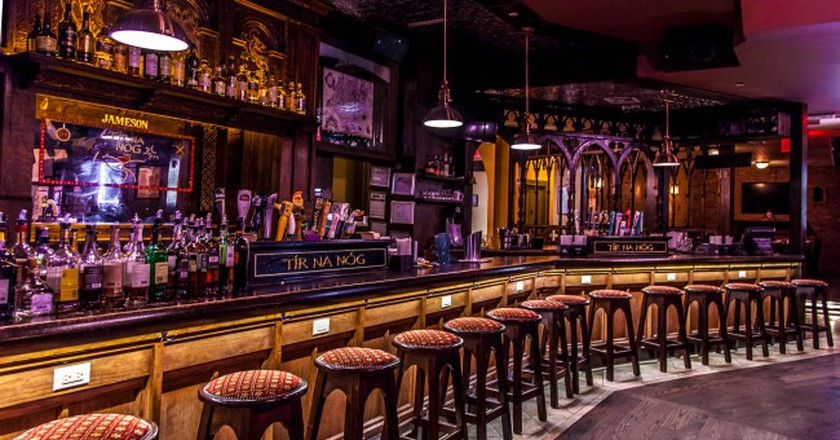 Main bar at Tír na nÓg | Courtesy of Tír na nÓg