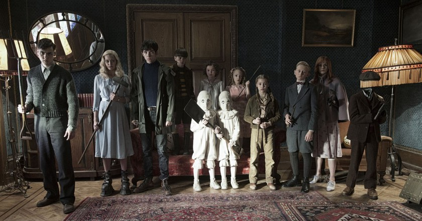 """Miss Peregrine's Home for Peculiar Children"" 