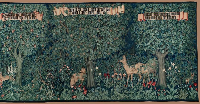 Morris & Co. Tapestry | © plum leaves/Flickr