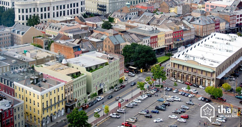Aerial view of New Orleans | ©  Terry Poche/Iha Holiday Ads