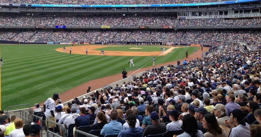 Yankee Stadium   © Wikipedia Commons