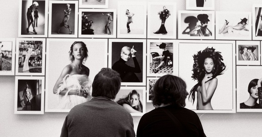 Patrick Demarchelier exhibition at the Petit Palais in 2009 │© Raphaël Labbé