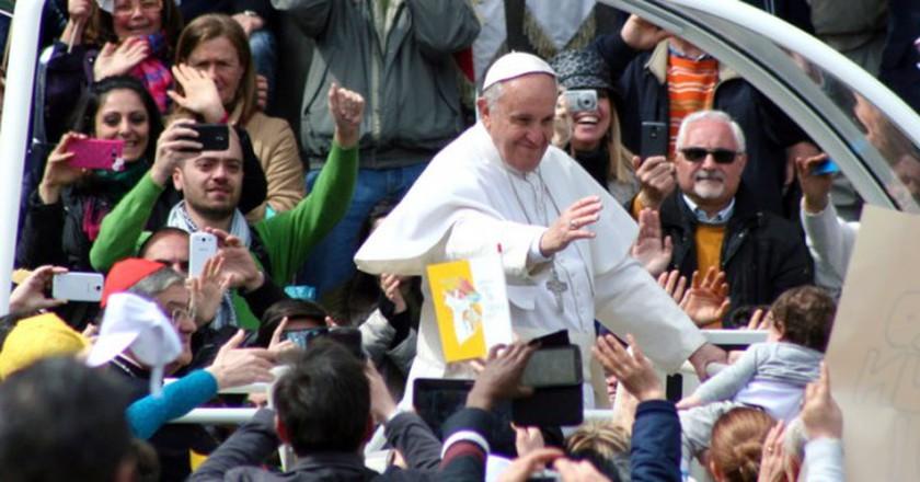 Pope Francis   © Flickr/Finizio
