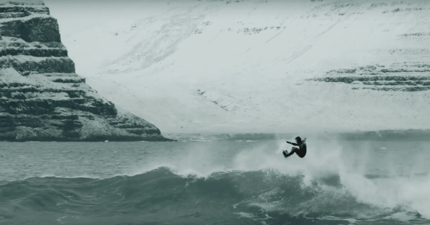 Iceland's only professional surfer explores his difficult relationship with the North Atlantic Wind in 'The Accord' | ©Tributaries Digital Cinema
