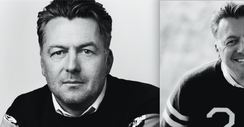 Portraits of designer Markus Lupfer, London Fashion Week SS17