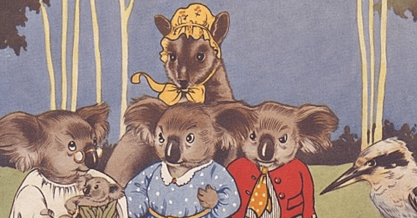Blinky Bill, the quaint little Australian - 'What shall I name this young bear', he asked. 1933 | © Paul K/Flickr