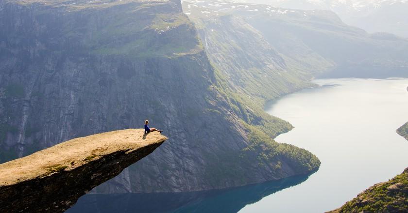 Trolltunga, Norway © Simon Dannhauer